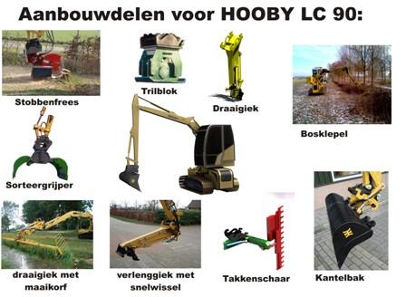 hooby lc90 aanbouwdelen